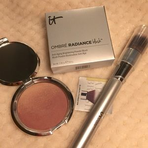 It Cosmetics Ombre Radiance Blush and 101 Brush